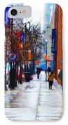 Rainy Day Feeling IPhone Case by Bill Cannon