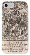 Rantzau's Astrology Book, 1584 Edition IPhone Case by Middle Temple Library