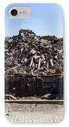 Recycle Dump Site Or Yard For Steel IPhone Case