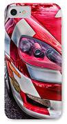 Red Corvette IPhone Case by Lauri Novak