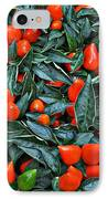 Red Hots IPhone Case by Mary Machare