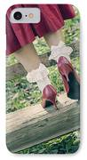 Red Pumps IPhone Case by Joana Kruse
