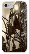 Reflecting In Little Italy IPhone Case by Catie Canetti