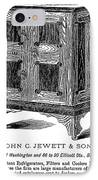 Refrigerator, 1876 IPhone Case by Granger