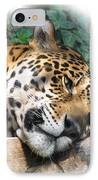 Relaxing 2 IPhone Case by Ernie Echols