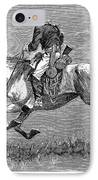 Remington: 10th Cavalry IPhone Case