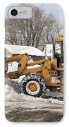 Removing Snow IPhone Case by Ted Kinsman