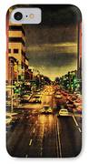 Retro College Avenue IPhone Case by Joel Witmeyer