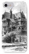 Rhode Island: Villa, 1876 IPhone Case by Granger