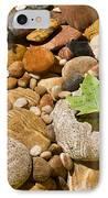 River Stones IPhone Case by Steve Gadomski