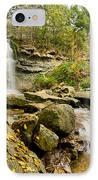 Rock Glen Falls IPhone Case by Cale Best