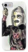 Rocket Man IPhone Case by Mel Thompson