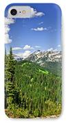 Rocky Mountain View From Mount Revelstoke IPhone Case