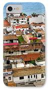 Rooftops In Puerto Vallarta Mexico IPhone Case