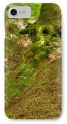 Roots Of A Tree At Ciucaru Mare Forest IPhone Case by Gabriela Insuratelu