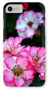 Rose 121 IPhone Case by Pamela Cooper