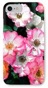 Rose 133 IPhone Case by Pamela Cooper