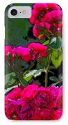 Rose 135 IPhone Case