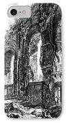 Ruins Of Roman Aqueduct, 18th Century IPhone Case