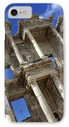 Ruins Of The Great Library At Ephesus IPhone Case