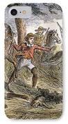 Runaway Slave IPhone Case by Granger