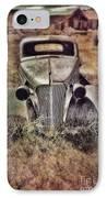 Rusty Car  IPhone Case