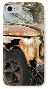 Rusty Ford IPhone Case by Luke Moore