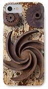 Rusty Gears IPhone Case