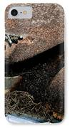 Rusty Impe IPhone Case by DigiArt Diaries by Vicky B Fuller