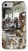 Rusty Machinery IPhone Case by Carlos Caetano