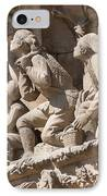 Sagrada Familia Barcelona Nativity Facade Detail IPhone Case