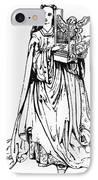 Saint Cecilia IPhone Case by Granger