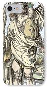 Saint Christopher Carrying Christ Child IPhone Case by Sheila Terry