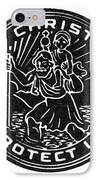 Saint Christopher Medal IPhone Case