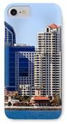San Diego Skyline Photo IPhone Case by Paul Velgos