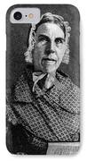Sarah Moore Grimké, American IPhone Case by Photo Researchers