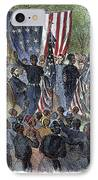 Sc: Emancipation, 1863 IPhone Case by Granger