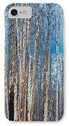 Scarred Pines Yellowstone IPhone Case by Steve Gadomski