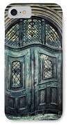 Schoolhouse Entrance IPhone Case by Jutta Maria Pusl