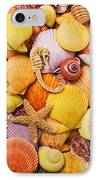 Sea Horse Starfish And Seashells  IPhone Case