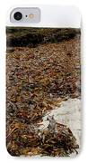 Seaweed Covered Beach IPhone Case
