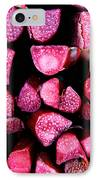 Seeking Pie Crust IPhone Case by Susan Herber