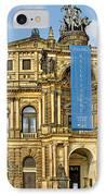 Semper Opera House Dresden IPhone Case