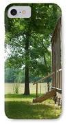 Settlers Cabin Arkansas 4 IPhone Case by Douglas Barnett
