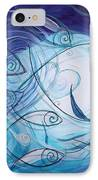 Seven Ichthus And A Heart IPhone Case by J Vincent Scarpace