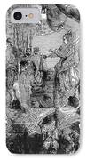 Sir Francis Drake (1540-1596) IPhone Case by Granger