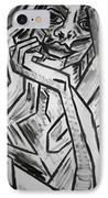Sketch - Intrigued IPhone Case by Kamil Swiatek