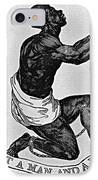 Slavery: Abolition, 1835 IPhone Case by Granger