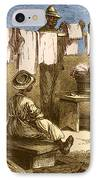 Slaves In Union Camp IPhone Case by Photo Researchers