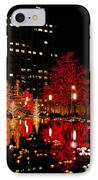 Slc Temple Nativity Pond IPhone Case